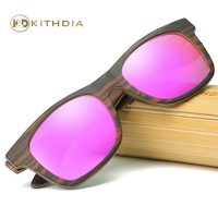 Kithdia Handmade Wooden Sunglasses Polarized Handmade Bamboo Sunglasses and Support DropShipping / Provide Pictures KD043