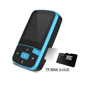 Image 4 - Reproductor de música Mp3 con Clip deportivo, 16gb con Bluetooth para correr, reproductor de música portátil sin pérdidas, tarjeta TF ampliable hasta 64GB