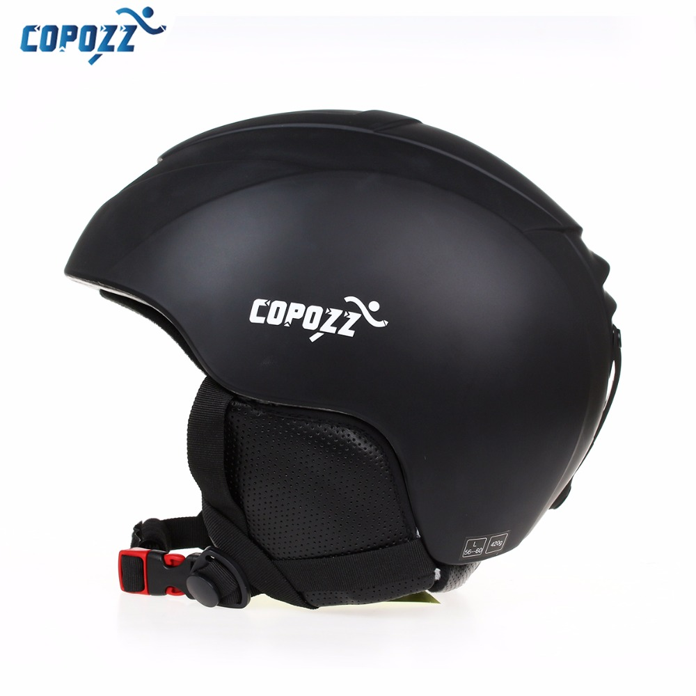 COPOZZ Ski Helmet Men Women Warm Protective Sports Skating Skateboard Skiing Integrally-molded Windproof Snowboard Helmet Cover