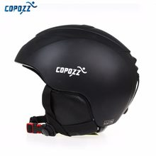 COPOZZ Ski Helmet Men Women Warm Protective Sports Skating Skateboard Skiing Integrally-molded Windproof Snowboard Helmet Cover(China)