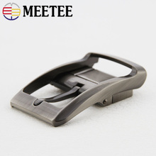 Meetee 35mm Rotary Tail Clip Pin Buckle Belt Metal Fashion Mens Jeans Accessories DIY Leather Craft Hardware