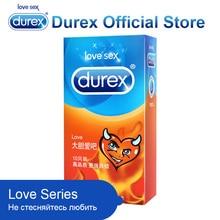 Durex Love Condoms Comfortable Fresh Lubricating Condom Intimate Sex Products for Men Safe Sex Toys Latex