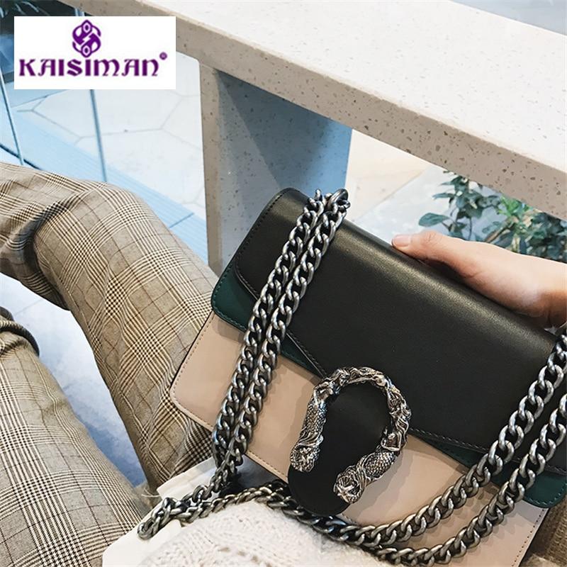 2019 Luxury Fashion Brand Chain Shoulder Messenger Bags Women Leather Handbags Clutch Purse Famous Designer Locks Crossbody Bags