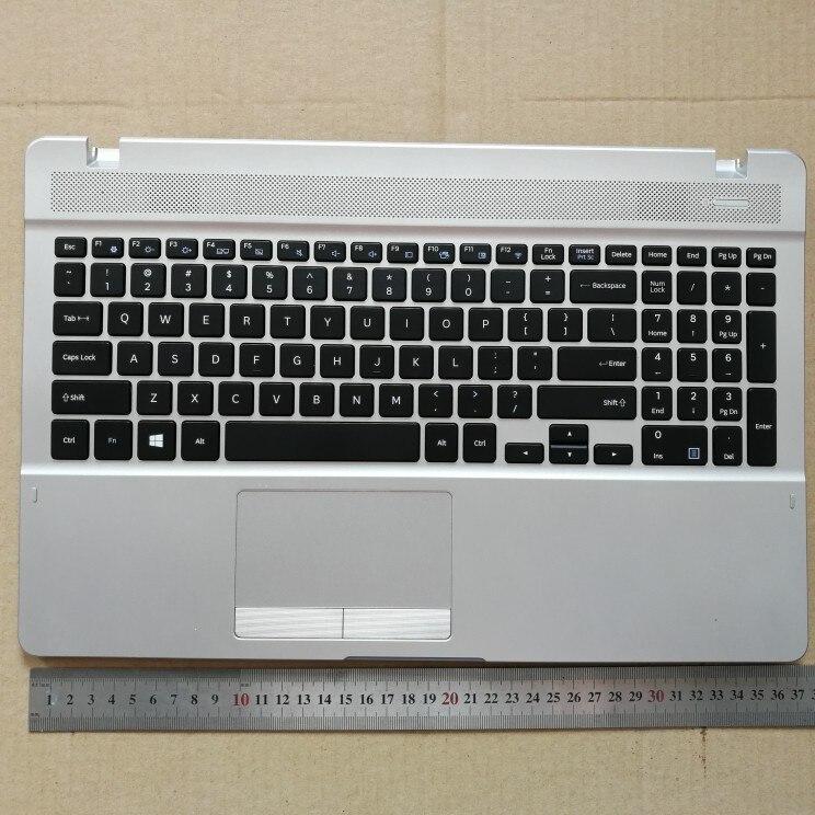 US new laptop keyboard with touchpad palmrest for Samsung 370E5J 370B5J 371E5J  BA98-00316A EnglishUS new laptop keyboard with touchpad palmrest for Samsung 370E5J 370B5J 371E5J  BA98-00316A English