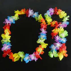 4 шт./компл. Гавайский тропический хула Луо трава танец голову Средства ухода за кожей Шеи наручные гирлянды Чирлидинг Сувениры Рождество