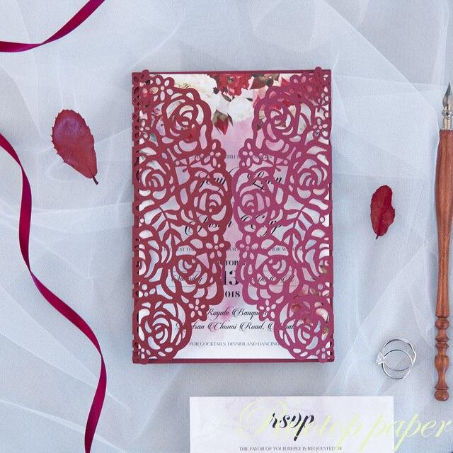 Fashion Wedding Reception Card Hot Sale Invitation Card Indian
