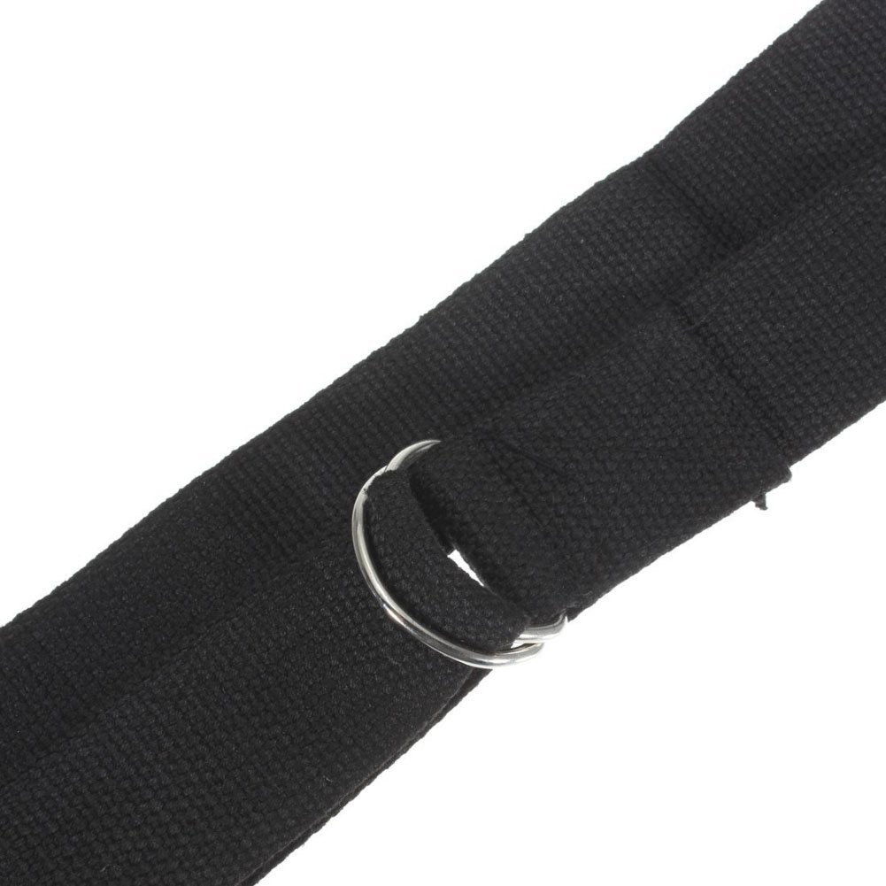 10X Wholesale  Black Yoga Belt / Yoga Strap - 185cm