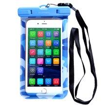 Универсальный Водонепроницаемый Чехол Сумка Сумка для Мобильного Телефона iPhone 5/5S 6/6 s Samsung Galaxy S6 Край S5 S7 Huawei Xiaomi HTC