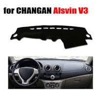 Car dashboard covers mat for CHANGAN Alsvin V3 all the years Left hand drive dashmat pad dash cover auto dashboard accessories