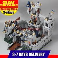 IN Stock 2017 DHL LEPIN 16017 1023Pcs The King S Castle Siege Set Children Educational Building
