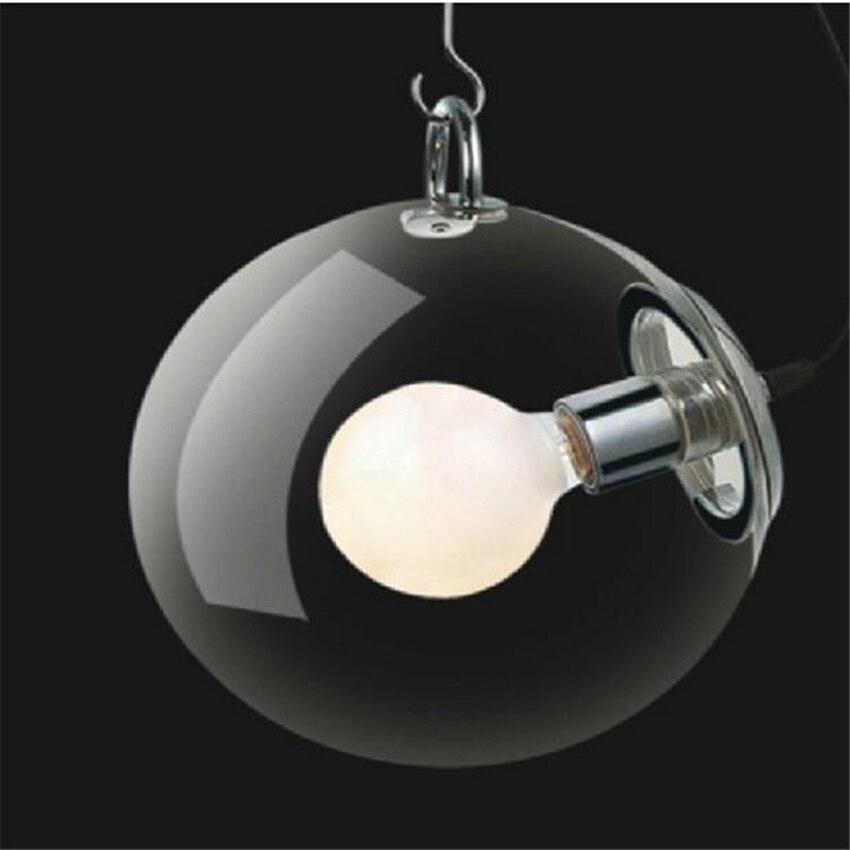 modern glass pendant lighting. modern clear glass ball pendant lightdia 25cm30cm lamp shade indoor lighting e