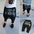 baby kids 80 cm - 120 cm height child hip hop  swag ripped sweatpants fashion boys Rubber elastic pants feet Beam foot trousers