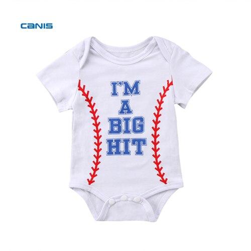 b333dc29aaab Baby Summer Clothing Newborn Infant Baby Girl Boy Romper Short ...