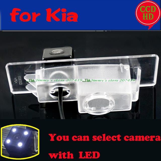 Nova câmera de visão traseira do carro para sony ccd 2015 Kia Sorento L Estacionamento estacionamento visão noite câmera com LEDS à prova d' água assistente