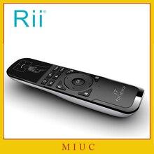 [Rii] i7 Мини Fly Air Мыши 2.4 ГГц Беспроводной Дистанционное управление Встроенный 6 оси для ПК/Smart TV /Android коробка/PS3 движения зондирования Gamer