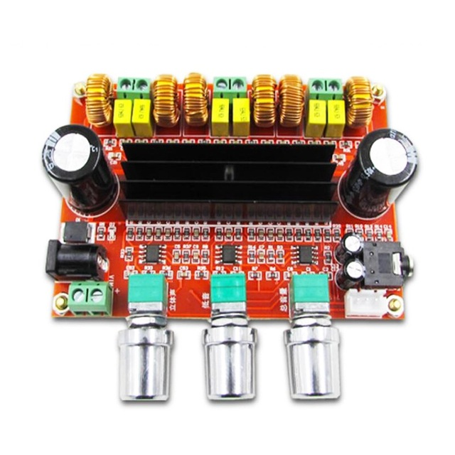 80W*2+100W  2.1 Channel Digital Audio Subwoofer Amplifier Board  TPA3116D2  With  with NE5532 DC12-24V Stereo amp