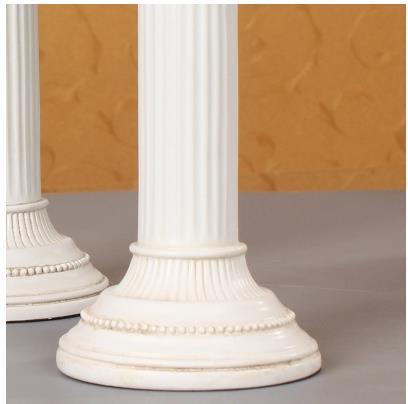 Europeo retro colonna Romana modello di artigianato, accessori per la casa creative, arredi in resina, oggetti di scena di ripresa-in Statuine e miniature da Casa e giardino su  Gruppo 3