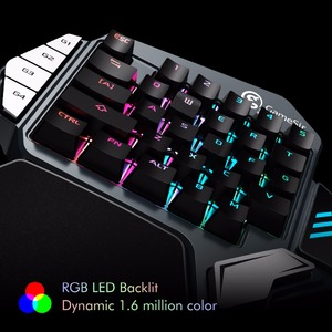 Image 4 - GameSir Z1 Gaming Keypad for PUBG FPS Mobile games, AoV,Mobile Legends, RoS. One handed Cherry MX red switch keyboard/BattleDock