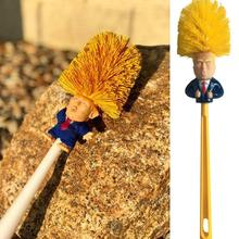 Creative Donald Trump Toilet Brush Supplies Durable Holders Wc Borstel Bathroom Escobilla Cleaning Accessories