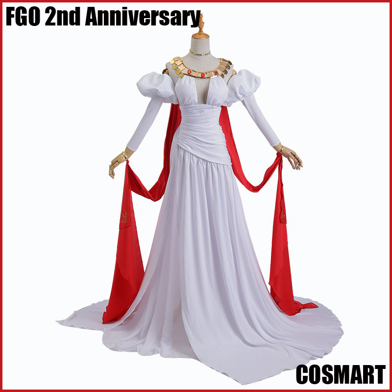 [FEW.Stock]Anime Fate Grand Order FGO Nero 2nd Anniversary Dress Uniform Halloween cosplay costume For women 2018