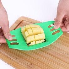 Нож из нержавеющей стали для картофеля, фри, чипсов, Овощечистка, нож для овощей, нож для фруктов, кухонные инструменты для овощей