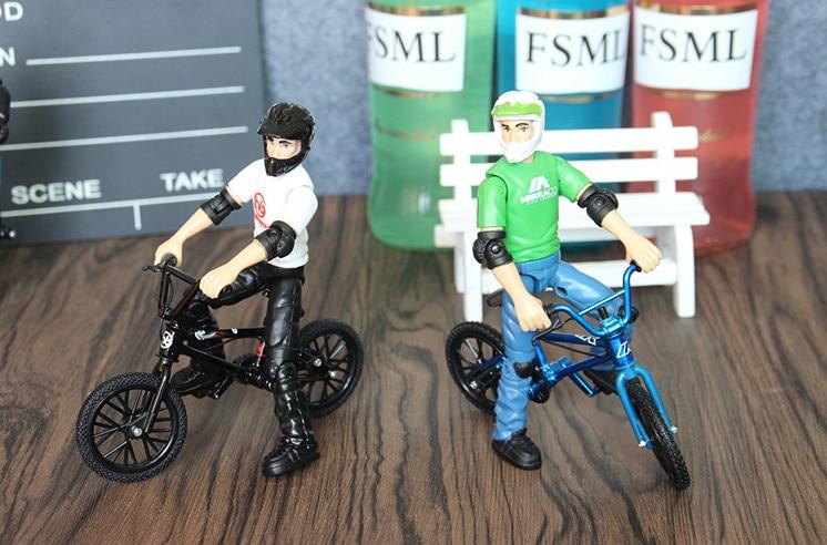 2 adet/grup Mini BMX Parmak bisiklet oyuncaklar