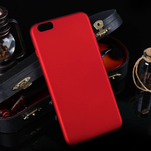 Rubber Hard Plastic Case For Apple iPhone 6 Plus iPhone6 Plus iphone6 5.5 inch Case Mobile Phone Cover Oil-coated Matte Housing