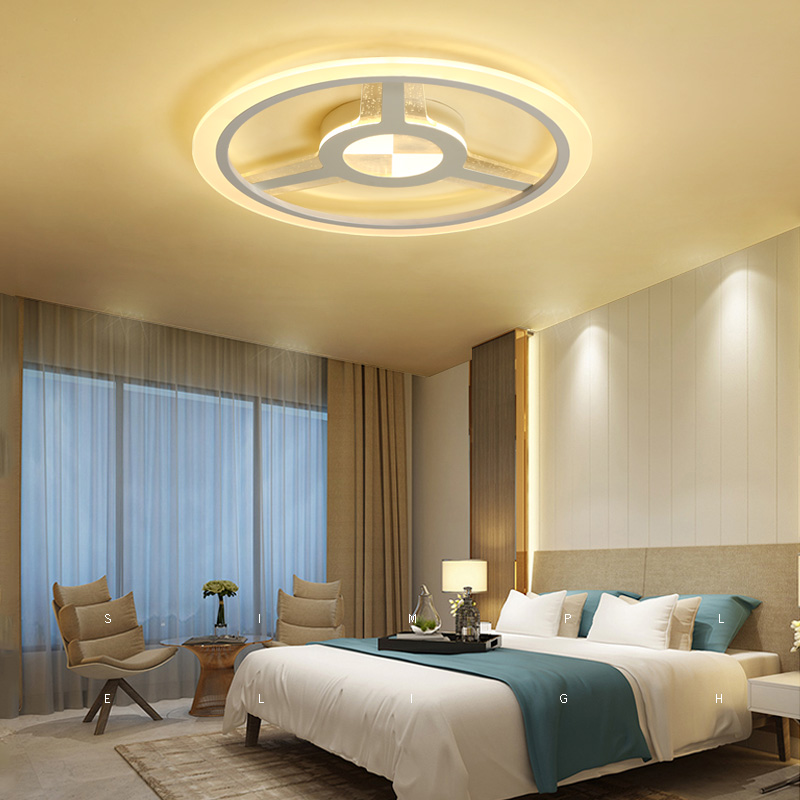Modern led Ceiling Lights Remote control Living room Bedroom Lights Lamparas de techo Dimmer Ceiling Lamp Children room free shipping lamtop 180 days warranty original projector lamp dt01251 for cp aw251n cp aw251nm
