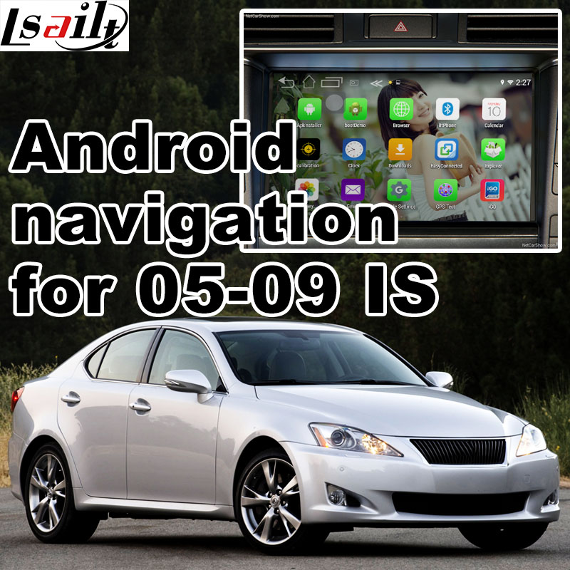Android 6.0 GPS navigation box for Lexuss