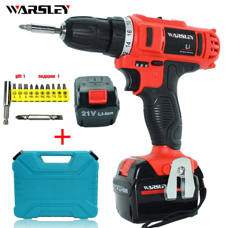21v Cordless torque Drill electric Drill power tools  Batteries power Screwdriver Mini precision electric waterproof drilling wowstick 1fs pro precision mini cordless electric screwdriver with 2 batteries for iphone mobile phone camera repair tools hw
