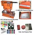 Tampografía máquina manual de tampografía pad máquina de impresión con la mano