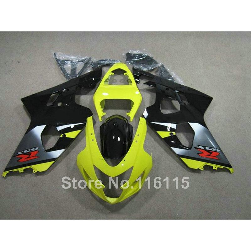 ②Kit de carenado de motocicleta para Suzuki GSXR600 K4 K5 2004 2005 ...