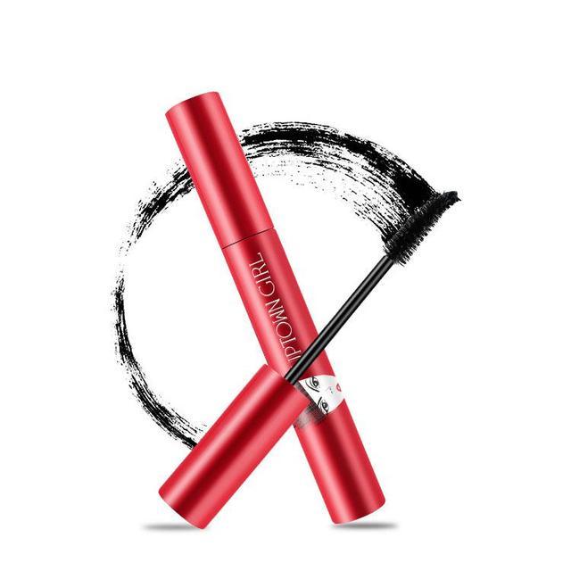 Long Lasting Black Mascara 3d Fiber Eyelash Long Curling Lashes Extension Makeup