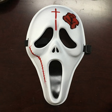 5PCS Hot Sale Scary Ghost Face Scream Mask Creepy For Halloween Masquerade Party Fancy Dress Costume