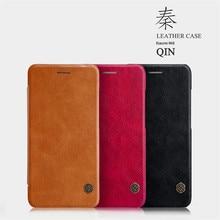Phone case для xiaomi mi6 mi 6 цинь серии кожи сальто бумажник pu кожа жесткого пластика задняя крышка для xiaomi mi 6 case