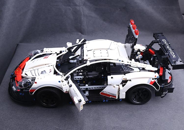 RSR Compatible avec Legoinglys 42096 Super Racer voiture ville technique blocs de construction jouets briques jouets pour enfants 1580 pièces 911