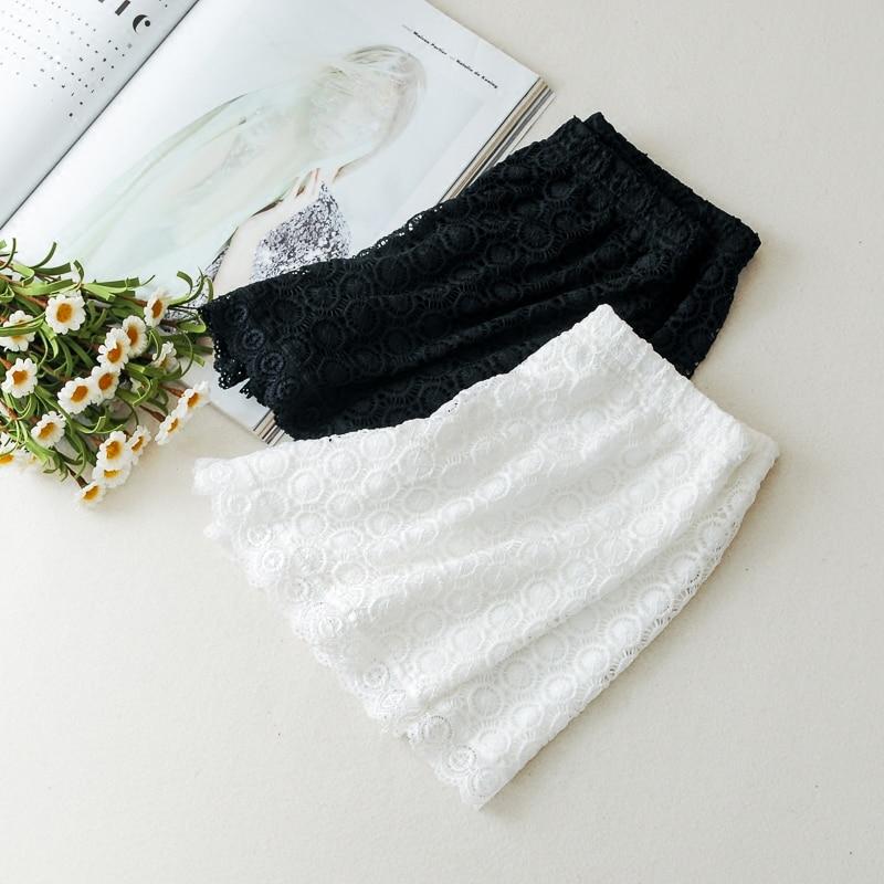 Women Safety Pants Lace Shorts Women's Intimates Safety Short Pants Black White Color