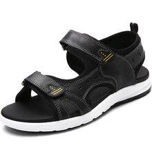 Summer Fashion Women Shoes antideslizante Hook & Loop Cómodo Diseñador Ocasionales Respirables Pisos Playa Plana Con Sandalias de Gran tamaño