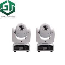 2 teile/los weiß farbe shell 60 W LED Spot Moving Head Licht hohe helligkeit 60 W LED DJ Spot Licht 60 Watt gobo moving heads lichter