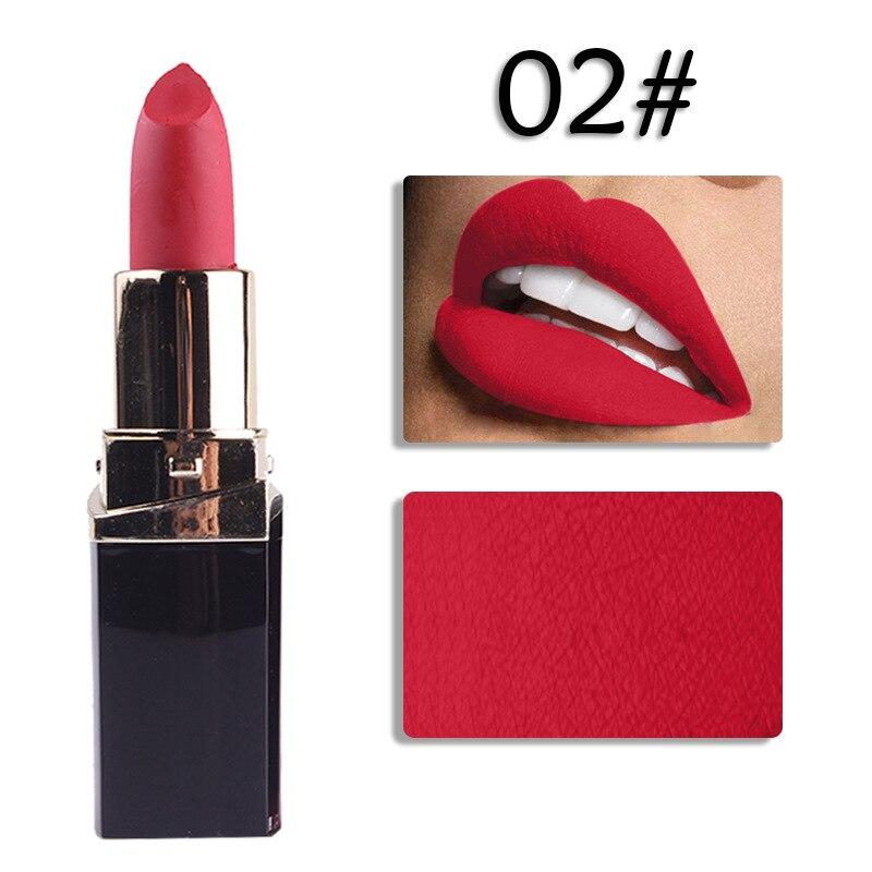 En gros 24 pièces/ensemble 42 couleur hydratant mat rouge à lèvres étanche rouge à lèvres longue durée rouge à lèvres pour les femmes outils de maquillage des lèvres - 4