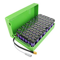 DIY Scooter case battery 36v 20ah ebike lithium battery pack with cells holder 36v 250W 500w Electric bicycle kit battery