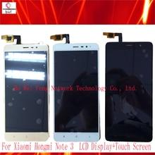 10 Pcs/lot Rouge Mi Note 3 LCD Display + Écran Tactile Panneau Numérique Accessoires Pour Xiaomi Hongmi Note 3/RedRice Note3 Smartphone