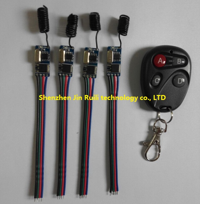 Mini Small Volume Remote Control Switch System Micro DC3.6V 3.7V 5V 6V 12V Relay Receiver Transmitter Momentary Toggle Latched