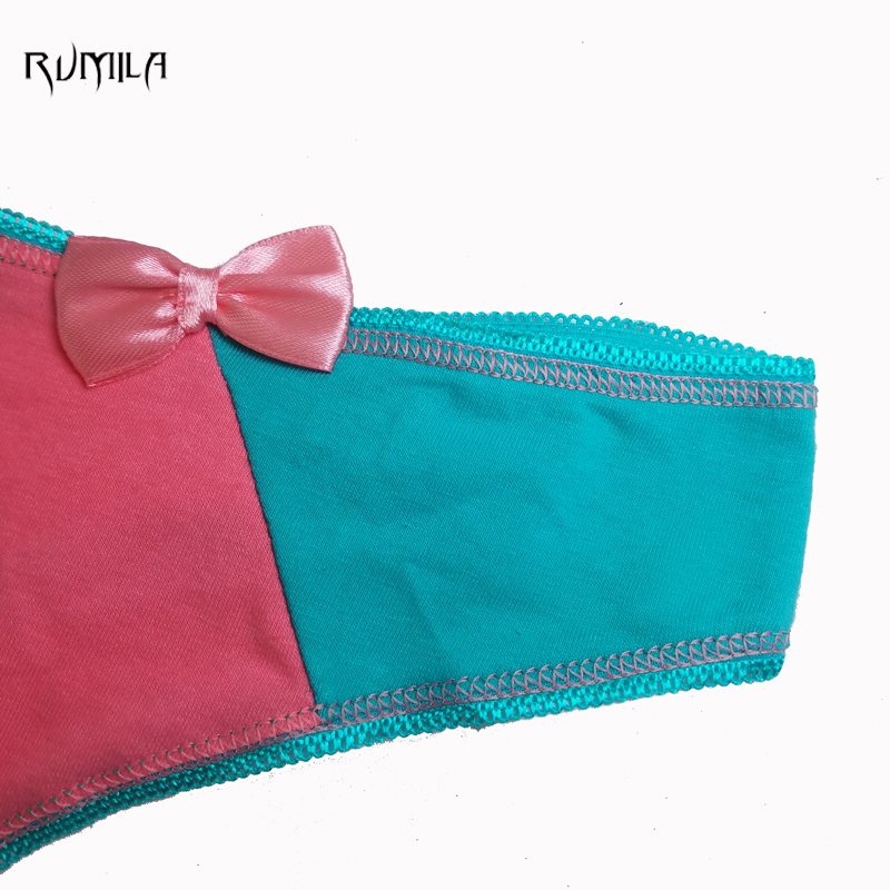 bow-knot Cotton Women's Sexy Thongs G-string Underwear bikini lingerie Panties Briefs For Ladies T-back 1pcs/lot 87317