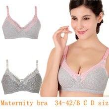 f5c9dc9e84916 Bras for nursing big size Cup Maternity nursing bra Women Underwear Cotton Nursing  Maternity Bra Wire