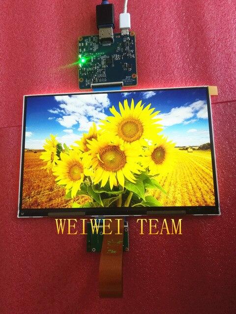 Monitor de pantalla lcd IPS de 8,9 pulgadas 2560*1600 2 k 1440 p con placa de controlador HDMI-MIPI para DIY 3d impresora Raspberry PI 3