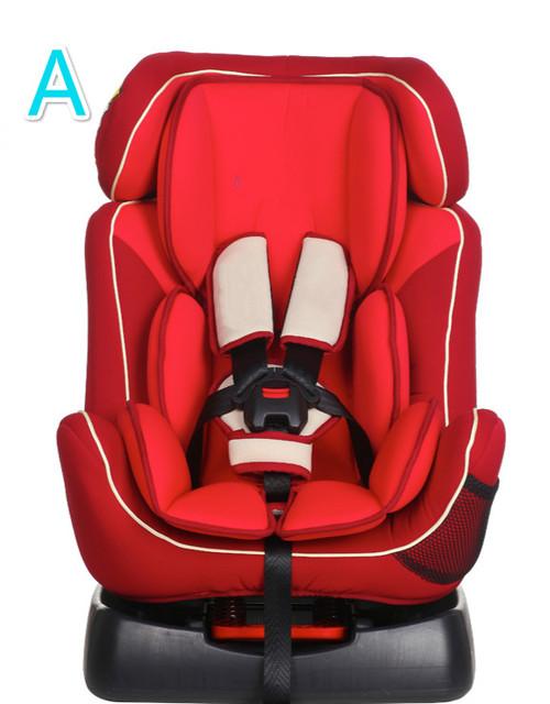 2016 nuevo estilo durable portátil recién nacido asiento de seguridad para bebés de 0-6 años de edad del niño