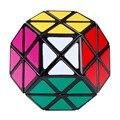 2016 New Arrival colorido Dayan Gem cubos mágicos sulcadas Megaminx velocidade Puzzles cubo brinquedos preto aprendizagem e educação para Children-50