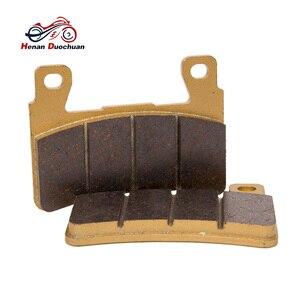Image 2 - Motorrad Vorne Hinten Disk Bremsbeläge Für Honda CB 400 1300 CBR 600 900 VT R 1000 VTR 1000 # b