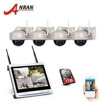 ANRAN Plug And Play P2P Wireless 4CH 960P NVR 30 IR Outdoor Dome Day Night 1